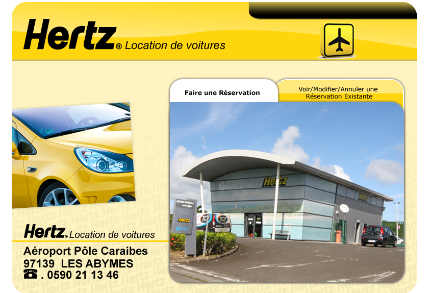 Car Rental In St Martin Hertz